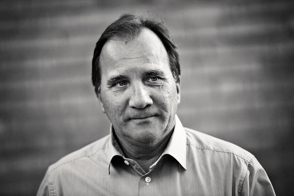 Stefan Löfven på